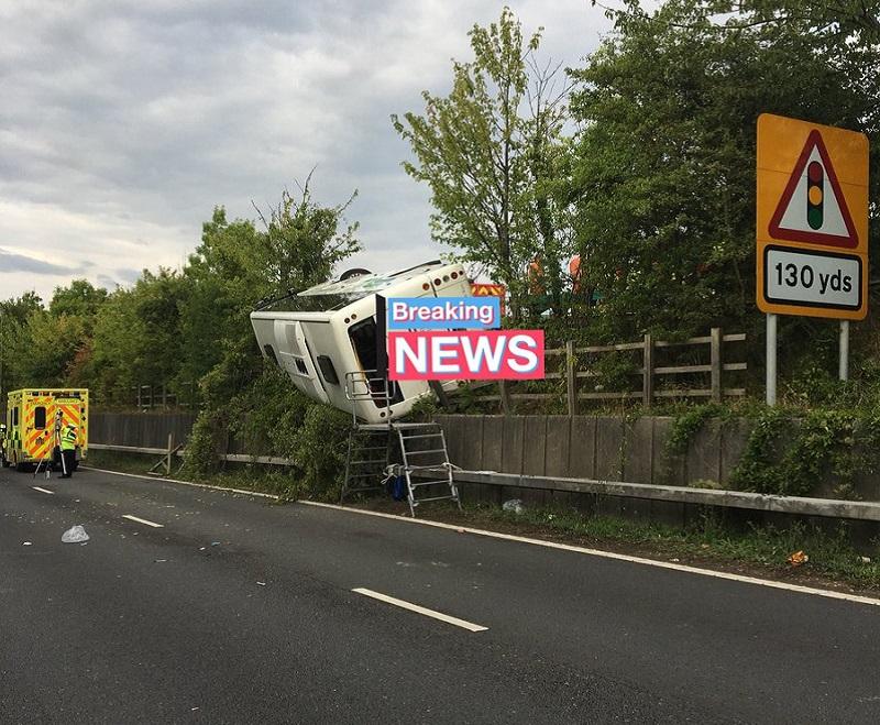 M25 crash