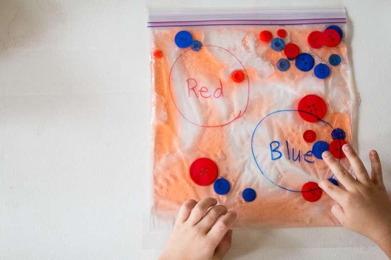 Make a magical squish bag