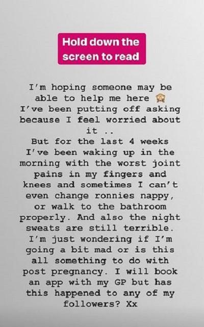 Mrs Hinch Instagram story