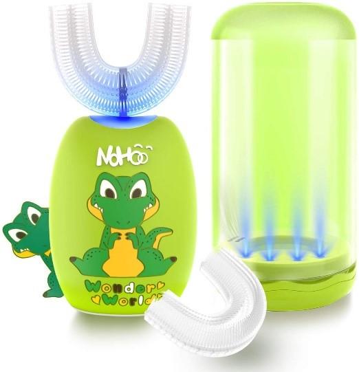 NOHOO Kids U Shaped Whole mouth electric toothbrush