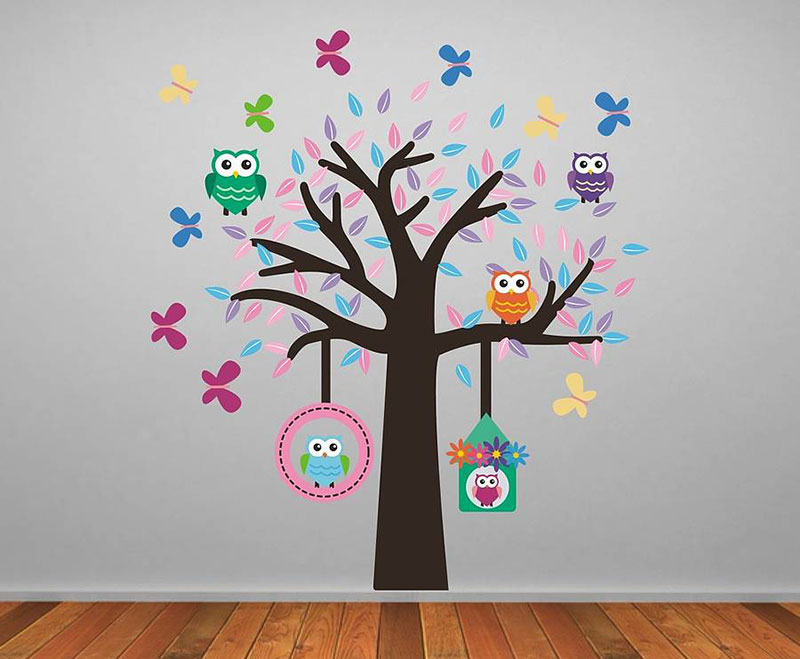Owl-Tree-Stickers