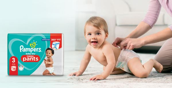 Pampers Pants