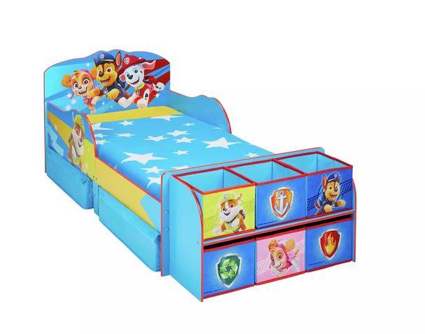 Paw Patrol Cube Toddler Bed Frame