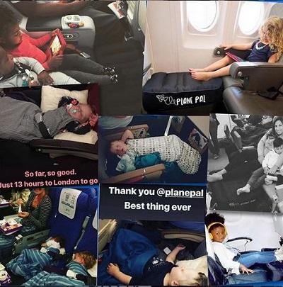 Plane Pal Instagram post