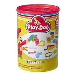 Play-Doh Classic Canister Retro Set