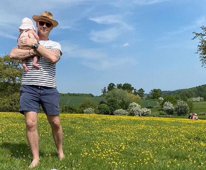 Ronan Keating and baby