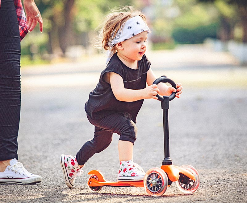 toddler scooter and bike