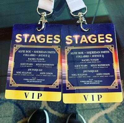Sheridan Smith VIP passes