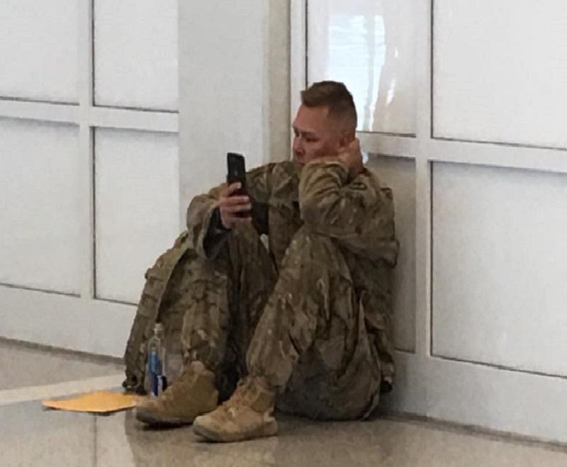 Soldier dad