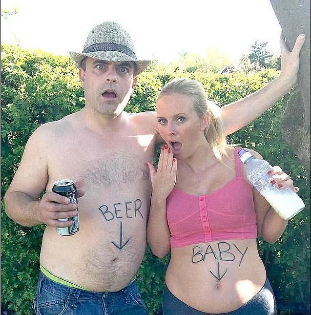 Steve Gregson pregnancy announcement