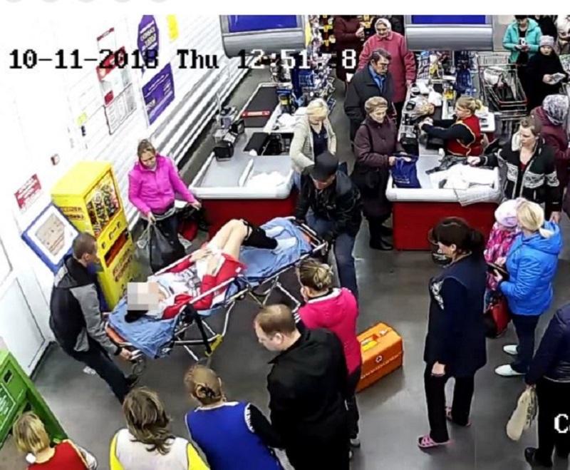 Supermarket birth
