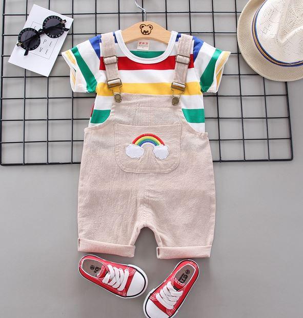 Sweet Stripes Baby Set