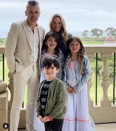 Teddi Mellencamp and family