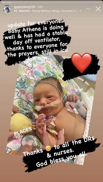 Tyson baby update