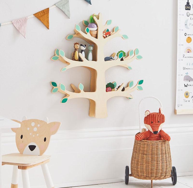 Woodland-Tree-Wall-Shelf