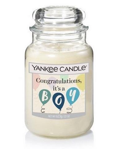 Yankee Candle baby boy