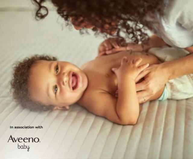 Newborn dry skin