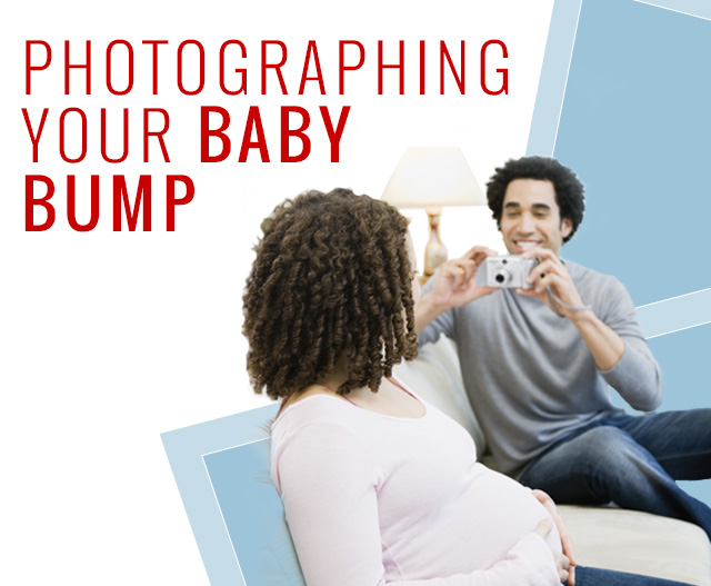 Photographing your baby bump