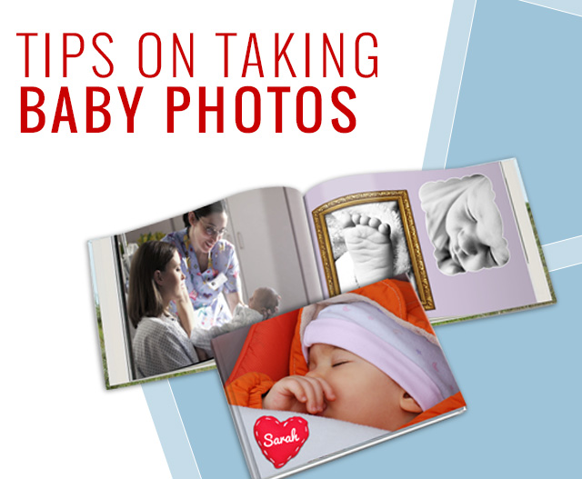 Tips on taking baby photos