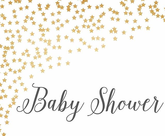 baby shower sparkle