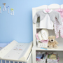 nursery with clothes