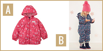 rainwear A & B