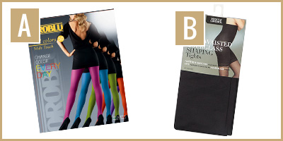 images of tights A&B