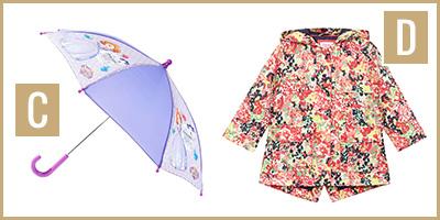 rainwear C & D
