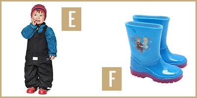 rainwear E & F