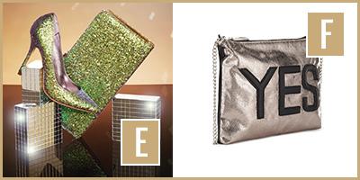 image of E & F bags