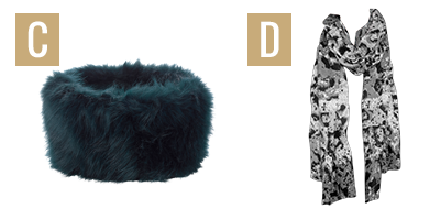 cosy accessories images C and D