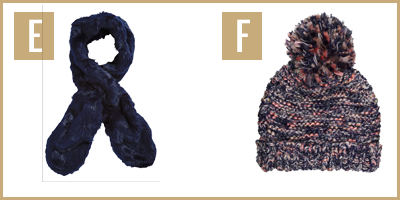 cosy accessories images E and F