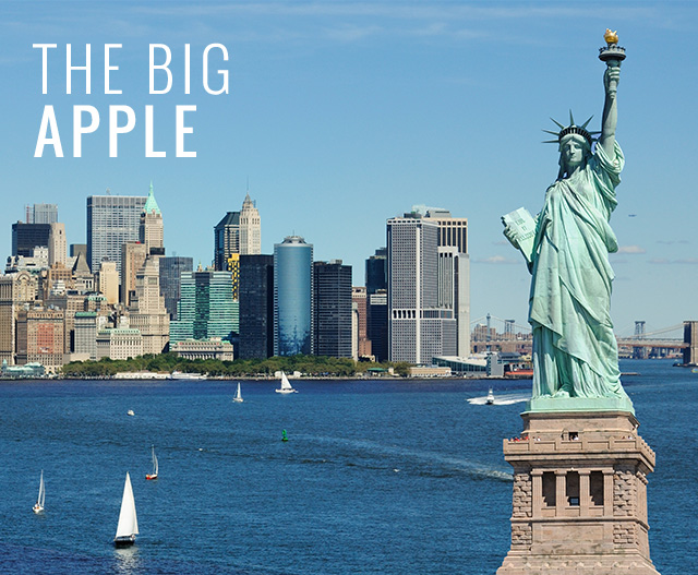 statue of liberty and new york